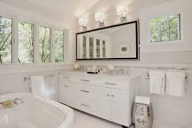 Above Mirror Bathroom Lights Light Above Mirror Houzz With Regard To Bathroom Lighting