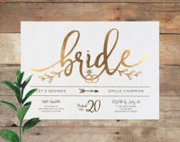 Wedding Shower Invites Emilia Bridal Printable Bridal Shower Invitation Shower