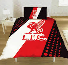 liverpool fc bedroom ideas and themed accessories sniff it out liverpool fc duvet set