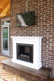 Screen Porch Fireplace by Screened Porch Fireplace Our Fifth House