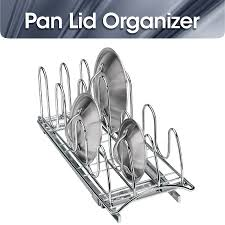 pull out kitchen cabinet organizers roll out pan lid holder pull out kitchen cabinet organizer rack