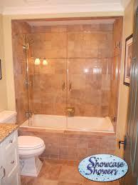 Shower Bath Doors Tub Shower Combo Glass Doors Home Design Hay Us
