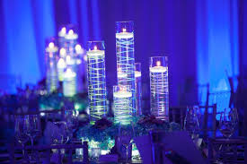Purple Floating Candles For Centerpieces by Magnificent Cute New Wedding Centerpiece Ideas Neon Wire Floating