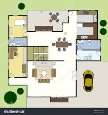 stock vector ground floor plan floorplan house home building stock vector ground floor plan floorplan house home building architecture blueprint layout