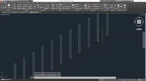 Stair Cad Block by How To Make Dogleg Staircase Section In Autocad Youtube