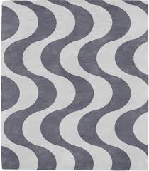 Modern Rugs by Marx Burle 96b Pattern Rug From The Bauhaus Minimal Design Rugs