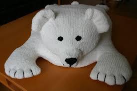 ravelry polar bear rug pattern by sirdar spinning ltd