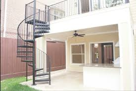 home design outdoor wooden spiral staircase industrial compact