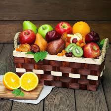 fruit basket ideas christmas fruit baskets christmas gift baskets ideas for