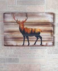 Deer Themed Home Decor Rustic Cabin Decor Ebay