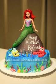 mermaid birthday cake coolest mermaid birthday cake