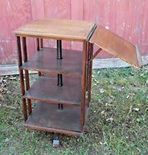 Danner Revolving Bookcase Oak Victorian Antique Bookcases Ebay