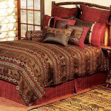 bedroom luxury pattern bedding design with western comforters