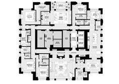Floor Plans Chicago Penthouses In Chicago Floor Plans Spired Condo Tower U0027s