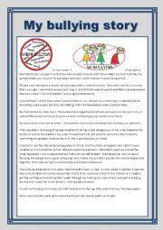 english teaching worksheets bullying