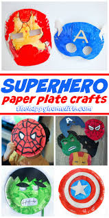 superhero paper plate crafts for kids paper plate crafts