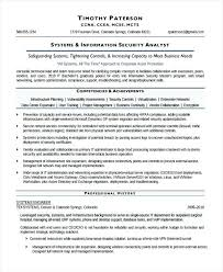 Cyber Security Analyst Resume Sample Resume For Information Security Analyst Information Systems