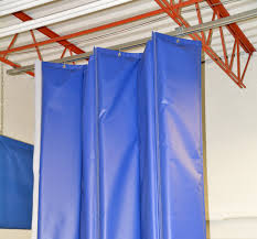 Retractable Curtains Retractable Acoustic Curtains With Single Barrier Technology