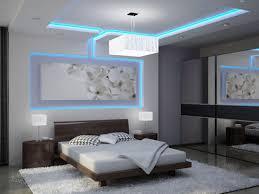 low platform bed on white fur rug ceiling molding design ideas