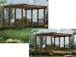 Free Standing Patio Plans Sunnyvale Patio Cover Plan 002d 3014 House Plans And More