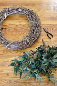 wreath supplies diy farmhouse style wreath at home with the barkers