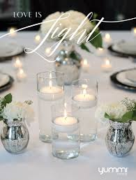 Vase Wedding Centerpiece Ideas by 165 Best Centerpieces Candles Images On Pinterest Marriage
