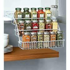 kitchen cabinet spice racks spice storage cabinet cabinet spice pull out pull down spice rack