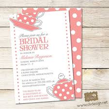 bridal shower invite wording tea party bridal shower invitation wording linksof london us