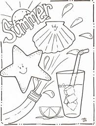 coloring pages summer coloring pages getcoloringpages summer