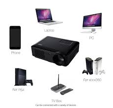 home theater systems kenya generic sv 228 multimedia lcd projector 4000lm 1280 800 pixels