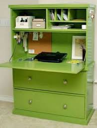 my desk has no drawers remove a drawer and add a hinge to its face for a mini desk or