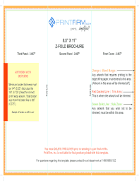 brochure templates free download edit fill out print