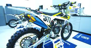 rockstar motocross goggles christophe pourcel u0027s factory rockstar racing husqvarna fc450