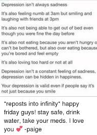 Depression Can T Get Out Of Bed 25 Best Memes About Loving Too Hard Loving Too Hard Memes