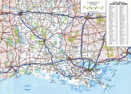 map of louisiana cities large detailed roads and highways map of louisiana state with
