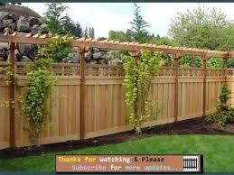 Privacy Fence Ideas For Backyard Fencing Ideas For Backyards Fences Gates Collection