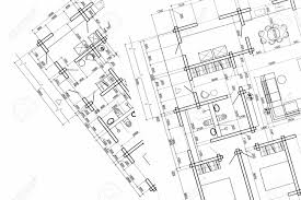 architectural plan part of architectural project construction plan architectural