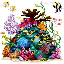 coral reef clipart animated pencil and in color coral reef