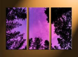 Purple Home Decorations by Splendid Purple Flower Canvas Art Home Decor Piece Wall Large