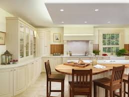 Kitchen Island Extensions by New England Classic Kitchen Style With Curved Kitchen Island Playuna