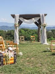 19 ideas for an outdoor wedding arbor