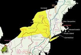 Finger Lakes New York Map by York
