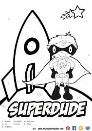 colour number superhero ideas rescue bots