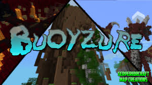 Minecraft Pe Maps Ios Buoyzure 1 2 Players Adventure Map By Serperiorcraft Mcpe