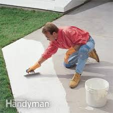 How To Install A Concrete Patio How To Build A Patio With Ceramic Tile Family Handyman