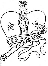 remarkable picture princess crown coloring netart