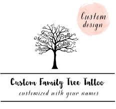 family tree custom family tree family tree