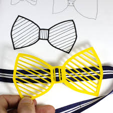how to turn a hand sketch into a wearable bowtie pop factory