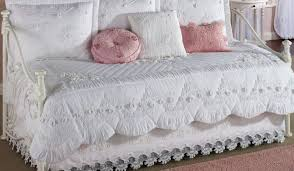 Daybed Comforter Set Daybed Simply White Comforter Sets With Pink Pillow For Picture