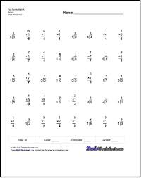 math fact families multiplication division one minute multiplication division these 40 problem multiplication